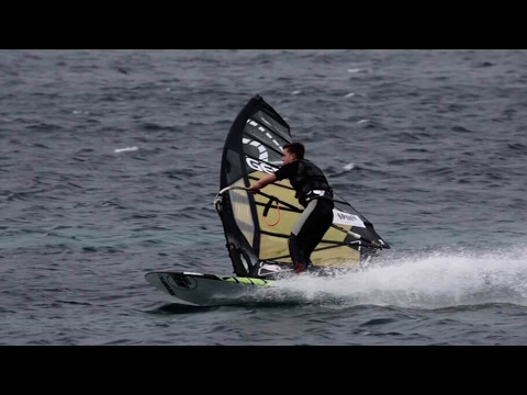 40 Knots Windsurf Training in Hyeres [Point7, Challenger, NoveNove]