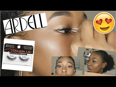TRYING ARDELL LASHES FOR THE FIRST TIME! l Layla Renee
