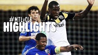 HIGHLIGHTS: Montreal Impact vs Columbus Crew | August 30, 2014