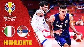 Italy v Serbia - Highlights - FIBA Basketball World Cup 2019