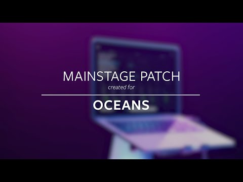 Oceans - Hillsong United (MainStage Patch Keys