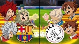Inazuma Eleven UCL ~ Barcelona vs Ajax ※Pokemon Anchor※