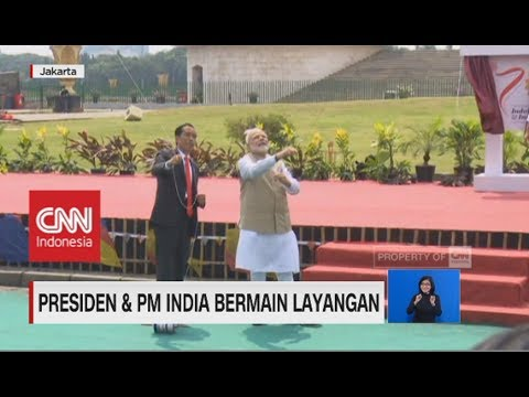 Presiden Jokowi & PM India Bermain Layangan Mp3