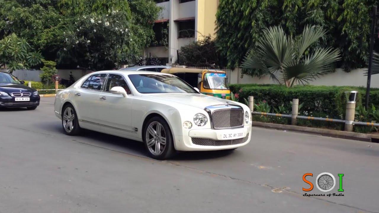 Bentley mulsanne in bangaloreindia youtube vanachro Images