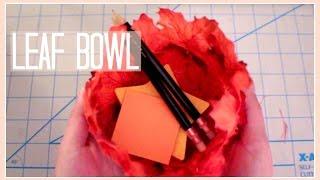 Download Video DIY // Leaf Bowl MP3 3GP MP4