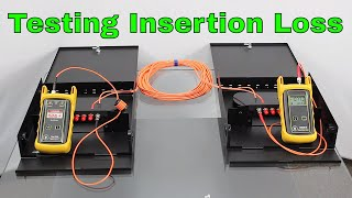 How to test the insertion loss of Fiber Optic Cable