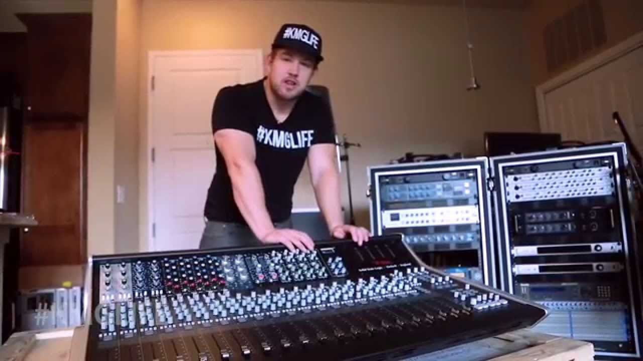 Kmg Gear Solid State Logic Xl Desk Unboxing Youtube