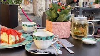 ЧАЙ ЗА 46 ЕВРО в центре Рима BAB NGTON'S TEA ROOM Старомодный коктейль Old Fashioned приготовление