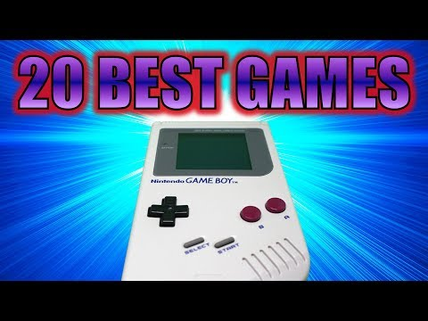 20 BEST GAMES of GAME BOY (Top 20)