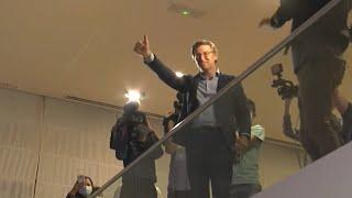 Reacciones de los partidos tras conocer los resultados de Galicia