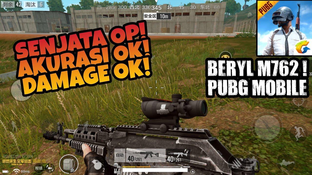 Review Senjata Beryl M Di Pubg Mobile Senjata Rifle Op Terbaru