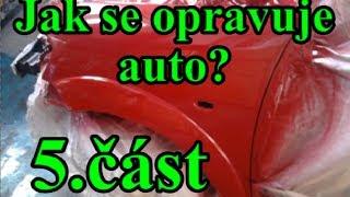 Jak se opravuje auto? Lakování - 5.část