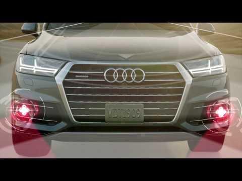 2018 Audi A8 Pre Sense Side Protection Cross Traffic Assist Youtube