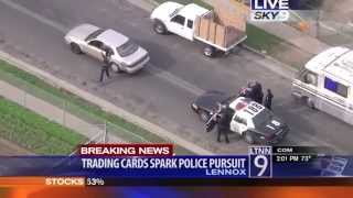 Parents throw away sons pokemons  - ends with police car chase!