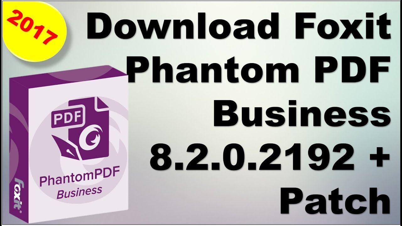 foxit phantompdf business download