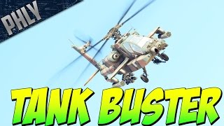 APACHE Helicopter Tank Busting (War Thunder Helicopter Gameplay)