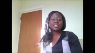 Sinach - I rejoice in him (cover by Rachel )
