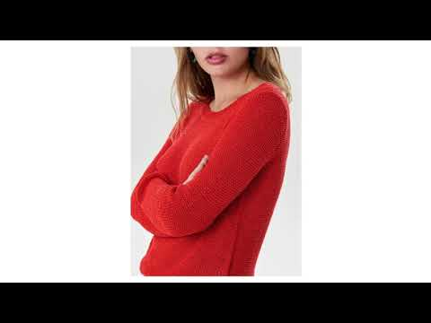 6f6748b4d8fc Červený svetr ONLY Geena - YouTube