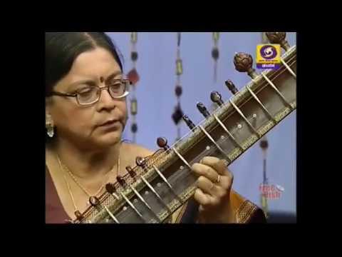 Hindustani classical Music instrumental Sitar- Indrani Chakravarthy