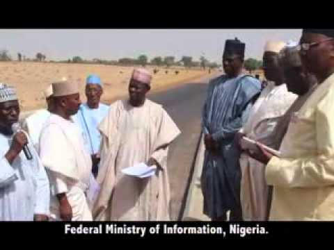 NGGTour: KATSINA STATE - Inspection of the Sheme - Kankara Road.