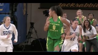 Highlights: Satou Sabally, Sabrina Ionescu combine for 53 points in No. 7 Oregon women's...