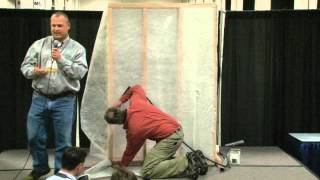 Dense Pack Cellulose Demonstration