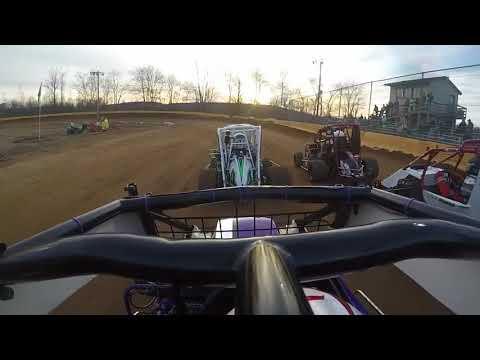 Hamlin Speedway - Rookie 600's Feature 4/21/18