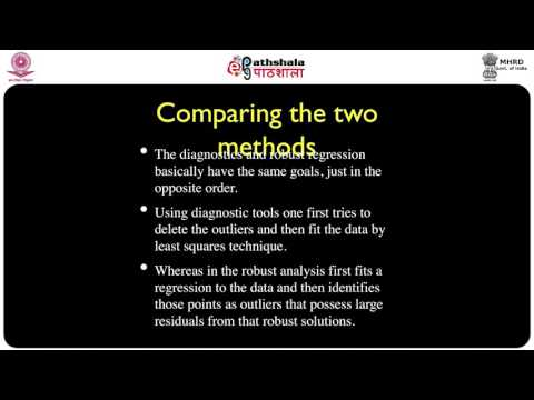 Outlier detection - Robust regression techniques