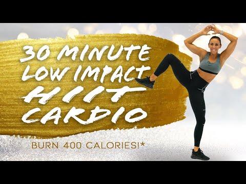 30 Minute Low Impact HIIT Cardio Workout ��Burn 400 Calories!* ��Sydney Cummings