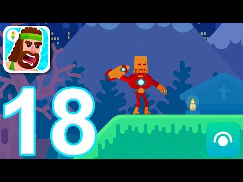 Bowmasters - Gameplay Walkthrough Part 18 - 5 of 10 New Characters (iOS)