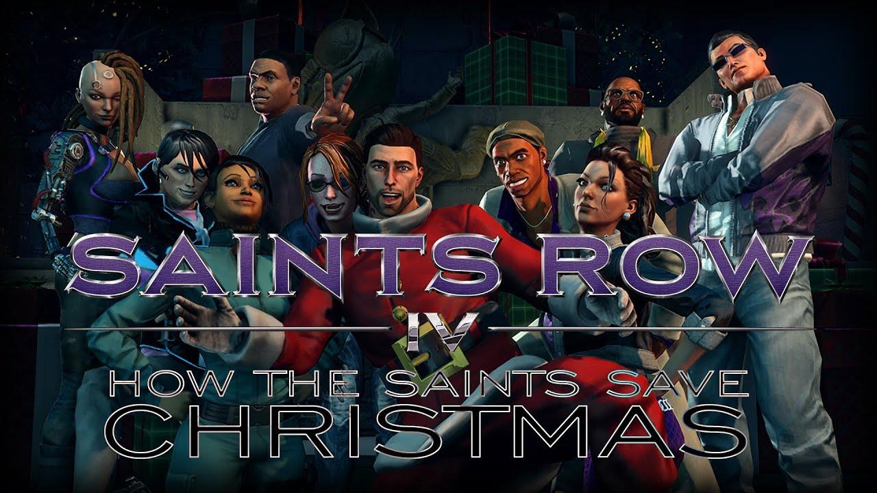 Saints Row IV - How the Saints Save Christmas - DLC Clothing - YouTube