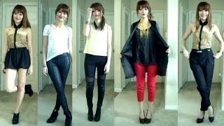 5 OOTD: I wear a weapon..or Two + Jewelmint Giveaway!!! thumbnail