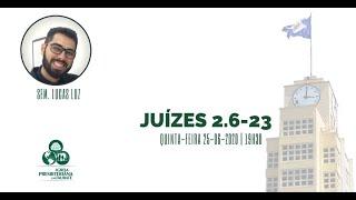 Reflexão: Juízes 2.6-23 - O Supremo juiz - IPT