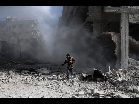 32 قتيلا حصيلة جديدة للقصف الجمعة على الغوطة الشرقية  - نشر قبل 2 ساعة