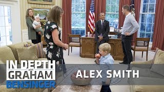 Alex Smith: My kid ate President Obama's apples