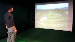 golftek st1 golf simulator featured at par2pro s new demo center in edmonton ab canada