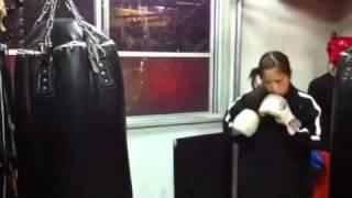 黒木優子トレーニング