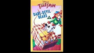 Talespin Dare Devil Bears Vhs