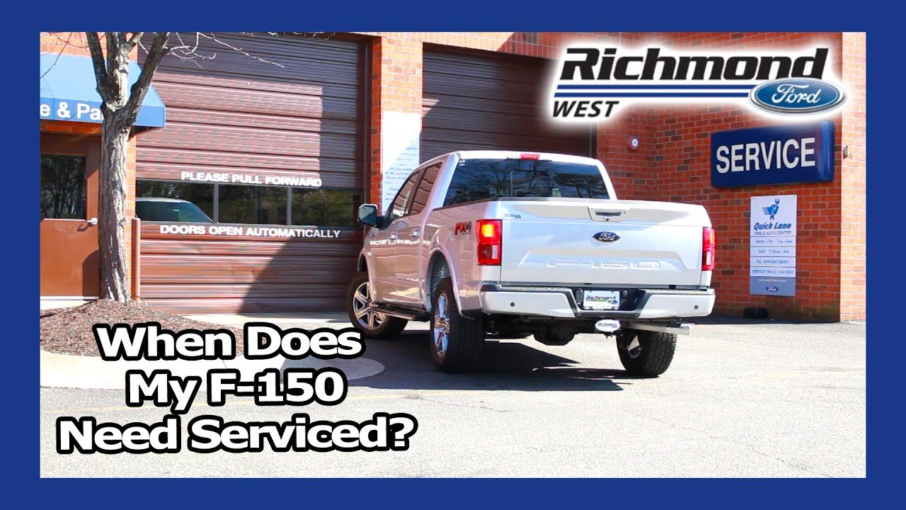 Ford F 150 Maintenance Schedule When To Bring In Your Truck Youtube