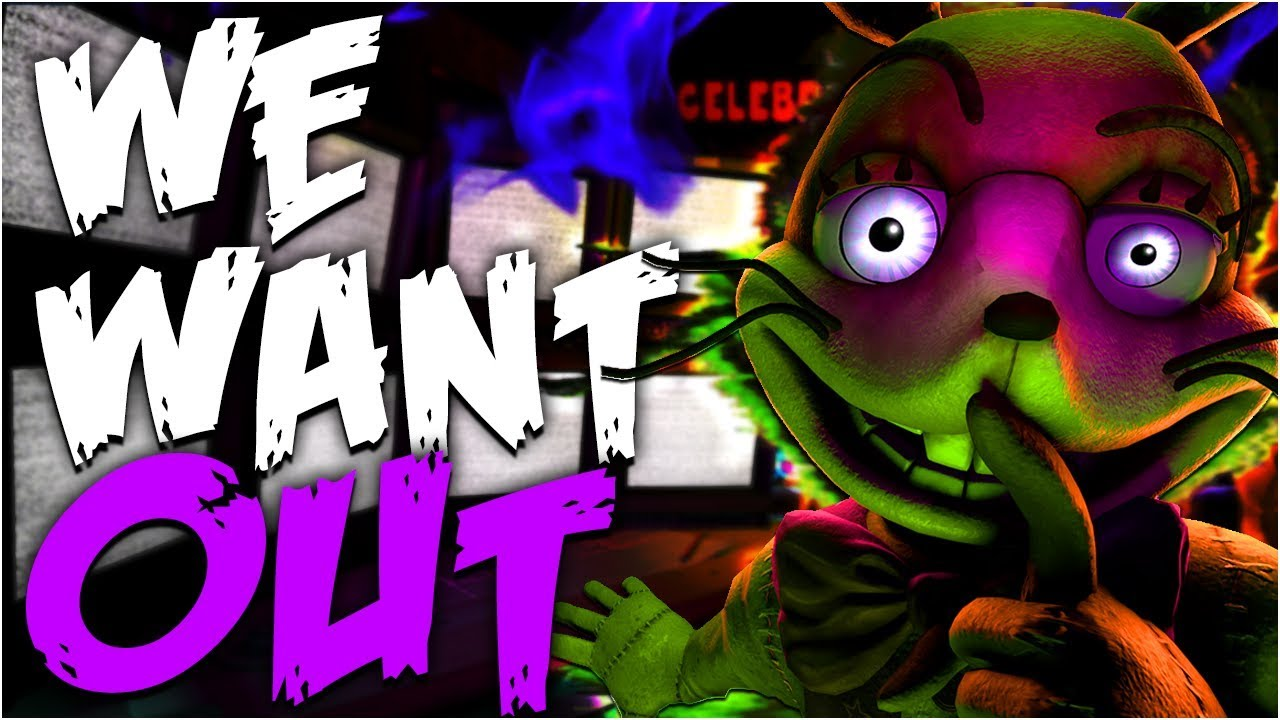 Download 🔒 WE WANT OUT   FNAF SFM (COLLAB) 🔒