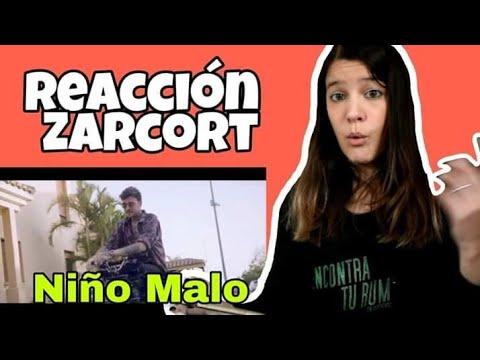 REACCIÓN ZARCORT - Niño Malo   Natuchys
