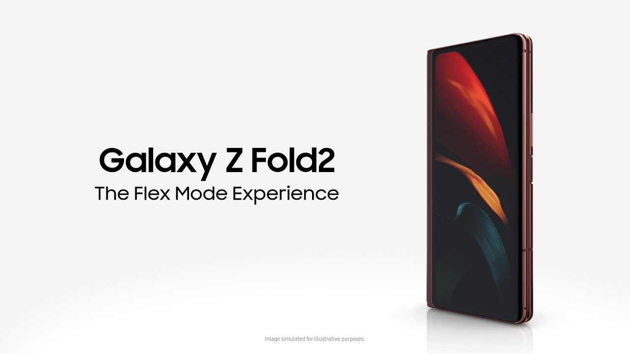 Galaxy Z Fold2: The Flex Mode Experience | Samsung