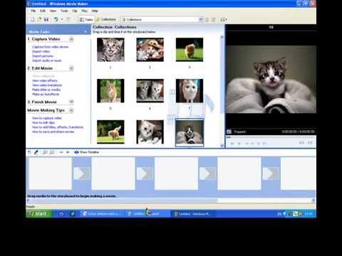 วิธีใช้โปรแกรมWindows Movie Maker