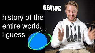 Musician Explains Bill Wurtz History of the entire world, I guess