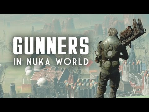 Gunners in Nuka World - Sergeant Lanier and the Bradberton Overpass - Fallout 4 Lore