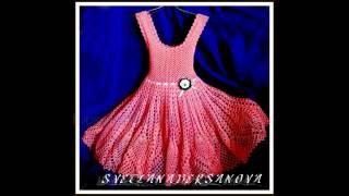 Вяжем крючком - платье Ясмина