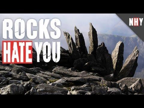 ROCKS HATE YOU!