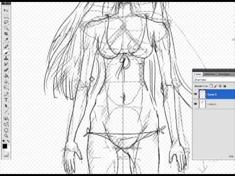 видео: Как рисовать аниме/манга. Урок 1.Балванчик (how to draw anime/manga. lesson 1)
