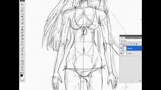 Как рисовать аниме/манга. Урок 1.Балванчик (How to draw anime/manga. Lesson 1)(Это вводный урок, для отрисовки схемы человеческих пропорций. Мы создадим болванчика-схему, которая будет..., 2013-08-29T06:28:37.000Z)