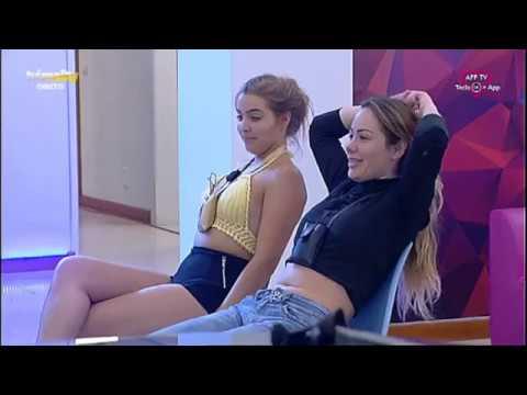 Ju e Andreia Silva recebem dança ousada de Enzo